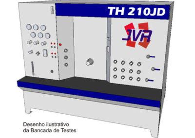 TH210JD – Bancada para Teste Hidráulico (motor diesel)