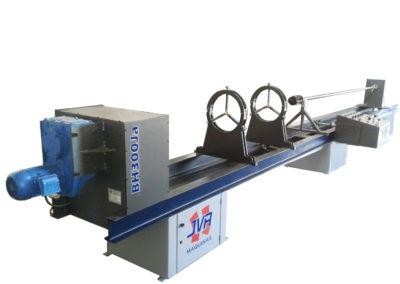 BH300Ja – Brunideira Horizontal (com acionamento automático dos brunidores)